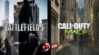 Modern Warfare 3 VS Battlefield 3 - Кто круче Видеопревью HD