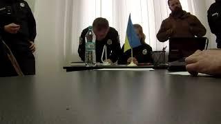 Приём УПП Чернівці ( Поліція Чернівці 23.12.2016)