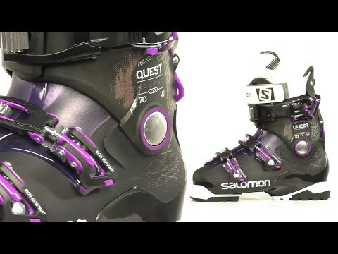 Salomon Quest Access 70 Women's Ski Boots 2017 YouTube