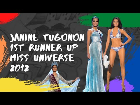 Janine Tugonon   Philippines' Full Performance @ Miss Universe 2012