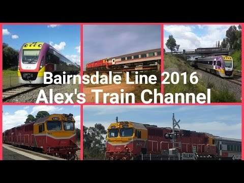 Bairnsdale Line 2016: May - December