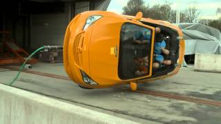 ADAC - Rollover crash test of compact convertibles