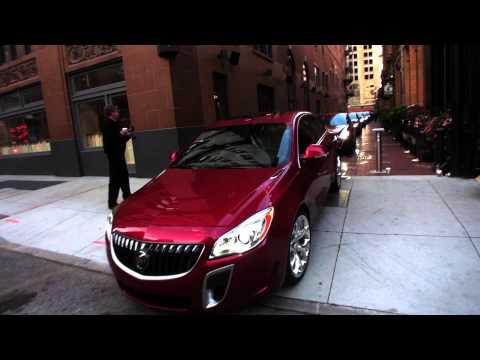 Buick Regal, First Drive off the 21c Hotel in Cincinnati
