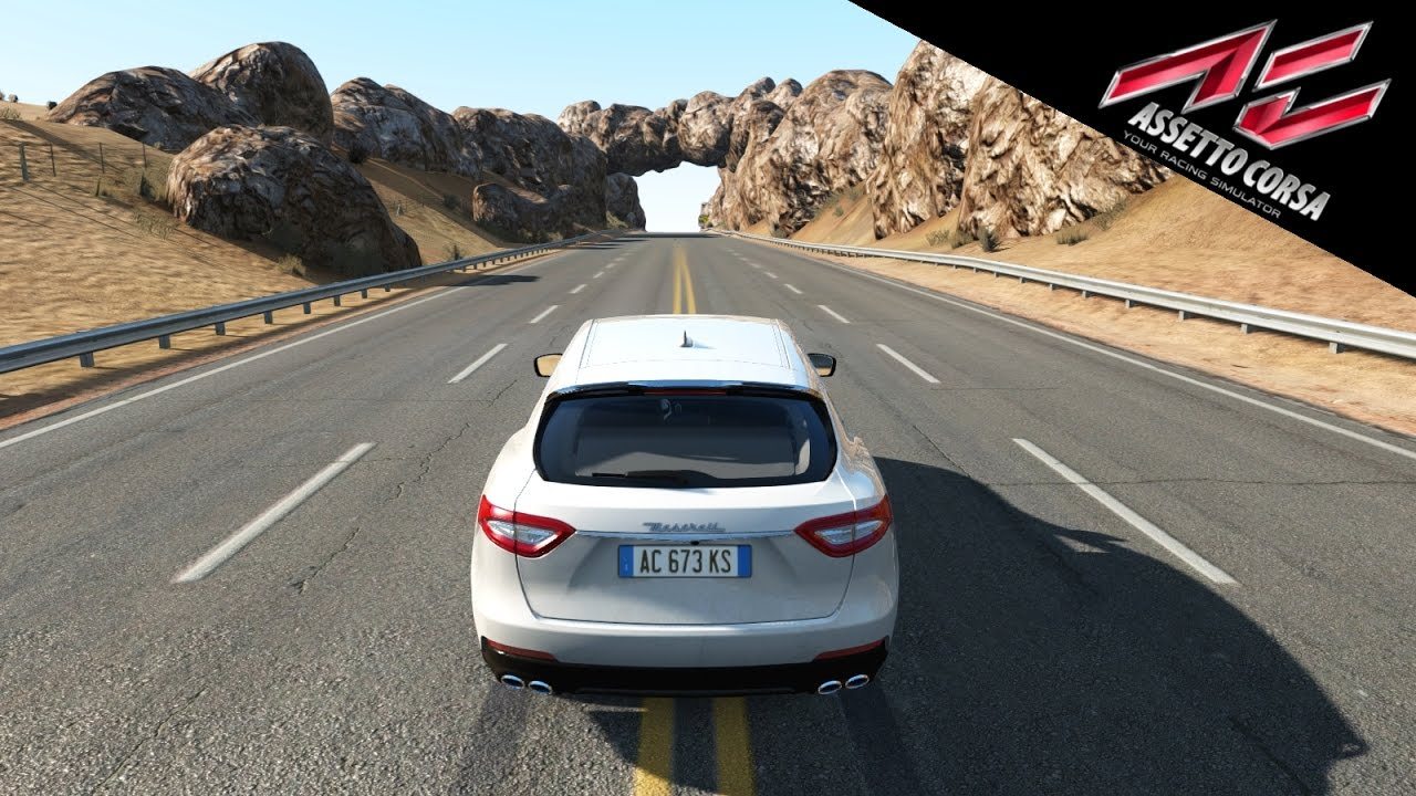 Assetto Corsa | Maserati Levante S Gameplay [PS4] - Black Cat County Long  [New DLC]