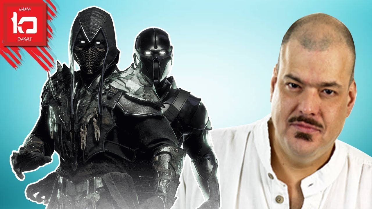 Noob Saibot con la voz de Ricardo Brust | Mortal Kombat 11 Latino