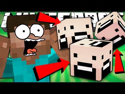 If Every Block Looked the Same - Minecraft