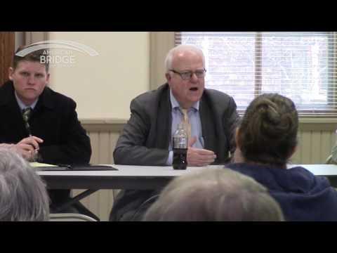 "Jim Sensenbrenner ""Nobody has got to use the internet"", Hellenville Town Hall 04-13-17"