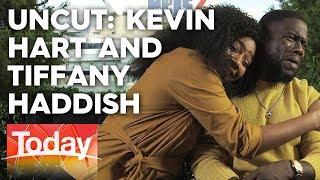 Kevin Hart embarrassed by Tiffany Haddish's flirting | TODAY Show Australia