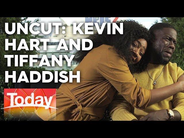 Kevin Hart embarrassed by Tiffany Haddish's flirting   TODAY Show Australia