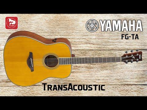 YAMAHA FG-TA Электроакустическая гитара со встроенными эффектами