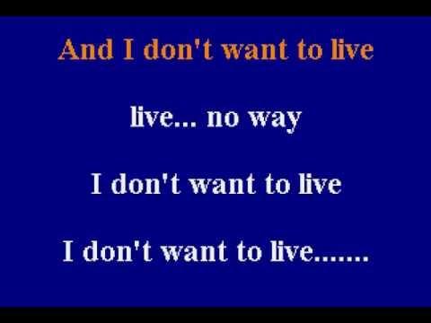 Toni Braxton - I Don't Want To - Karaoke