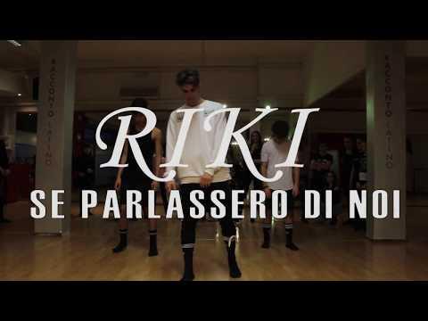 RIKI - Se parlassero di noi | Niccolò Di Stani dance choreography