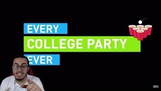Every College Party Ever | Reaction