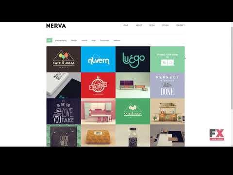 Nerva - Minimal Design Joomla Template        Ren Rube