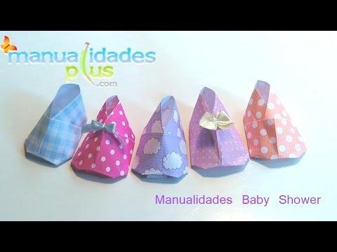 baby shower zapatito beb en origami fcil