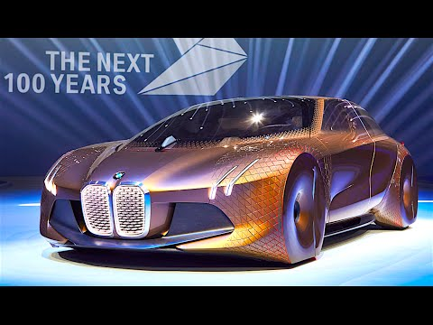 BMW Vision DRIVING LIVE at World Premiere BMW Vision NEXT 100 2016 ...