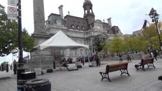 Canada メープル街道旅行 No03 モントリオール市内観光;ノートルダム大聖堂、ジャック・カルティエ広場201510120034