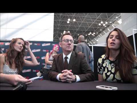 Michael Emerson, Amy Acker, Sarah Shahi NYCC 2015 Person Of Interest
