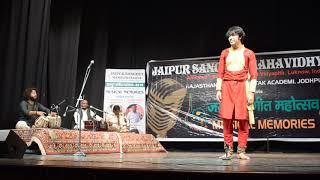 Kathak Ghungroo Dance Performance JSMV