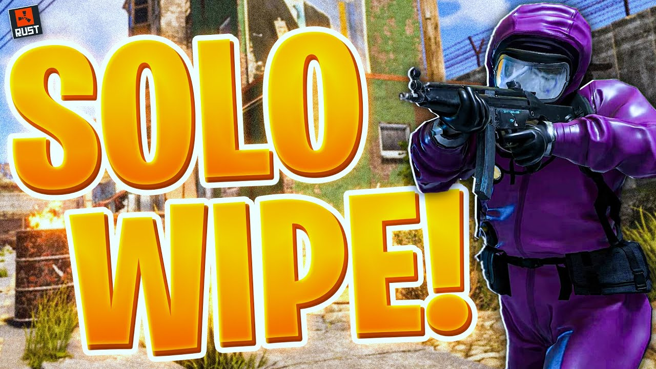 The best ways to have a successful solo wipe!