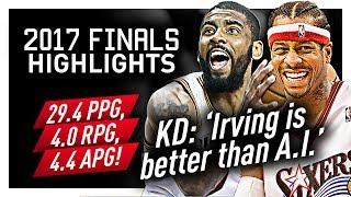 Kyrie Irving Offense Highlights VS Warriors (2017 Finals) - SWEET Handles!
