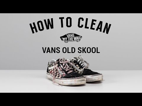 How To Clean Vans Oldskool With Reshoevn8r