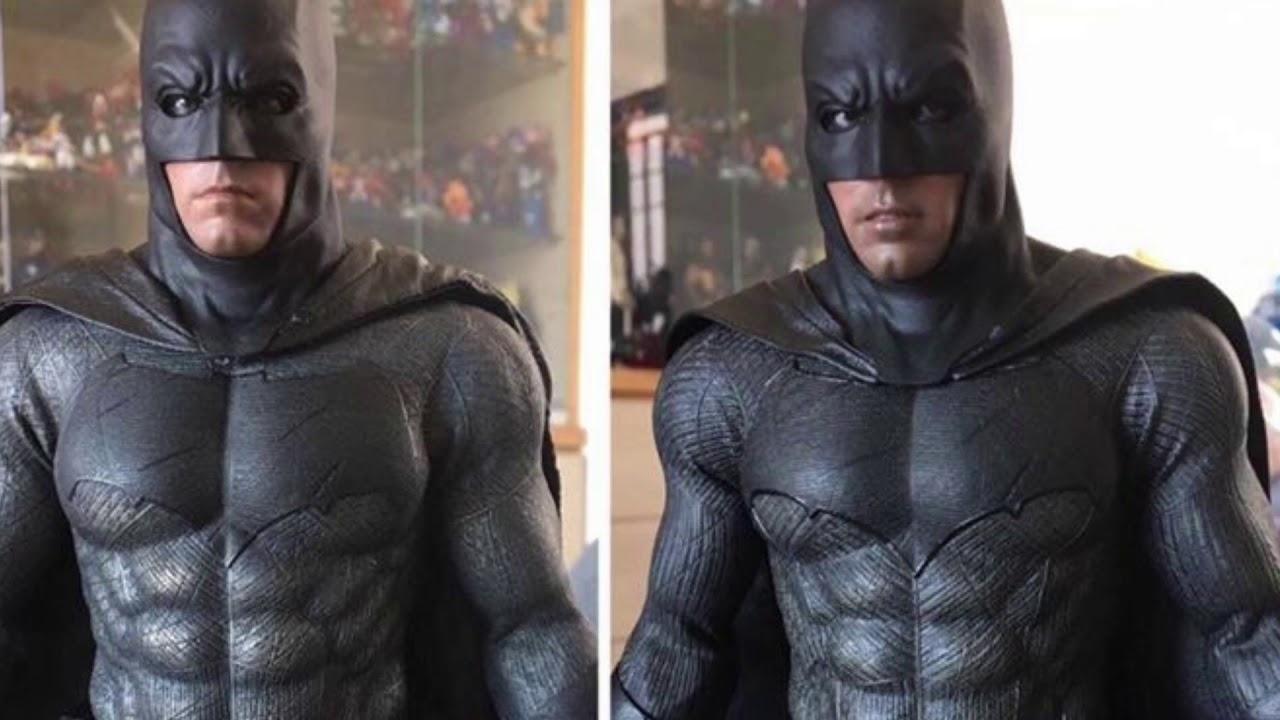 hot toys suicide squad batman vs bvs batman comparison youtube. Black Bedroom Furniture Sets. Home Design Ideas