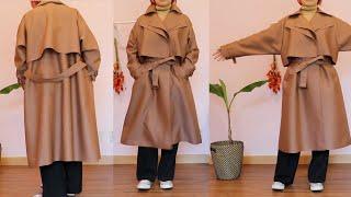 가을가을한~  여성 트렌치코트 맞춤옷 도전기✨(내 코트…