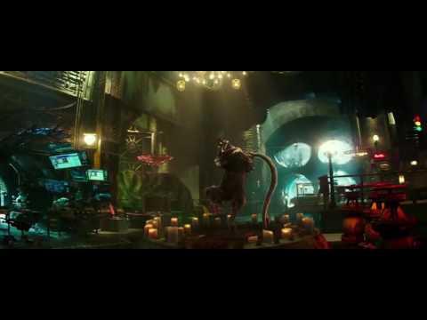 TMNT2 (2016) Turtle Truck Scene