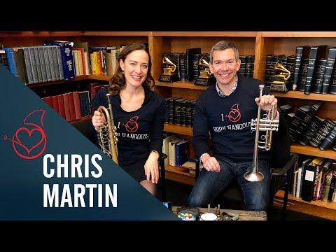 Chris Martin live on Sarah´s Horn Hangouts