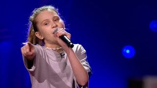 Babs - 'This Girl' | Blind Auditions | The Voice Kids | VTM