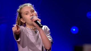Video Babs - 'This Girl' | Blind Auditions | The Voice Kids | VTM download MP3, 3GP, MP4, WEBM, AVI, FLV November 2017