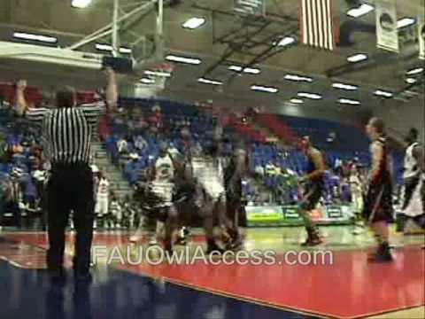 FAU mens basketball vs UALR