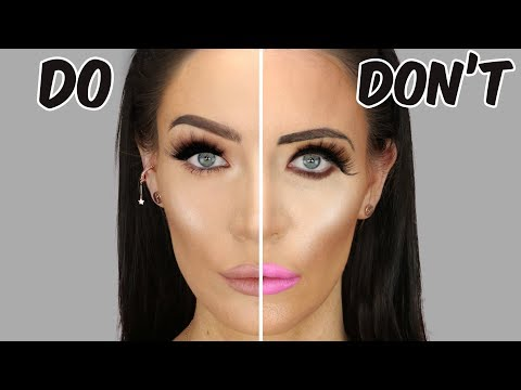 Makeup Mistakes To AVOID | Common Mistakes Dos & Don'ts