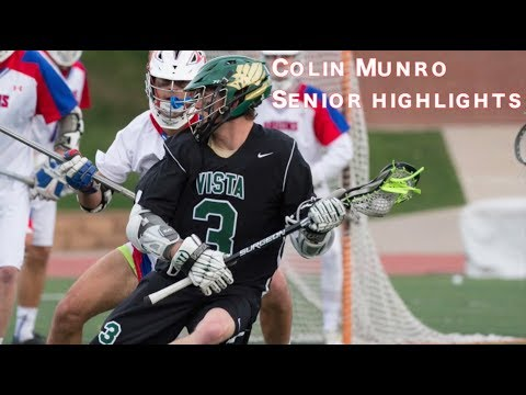 Colin Munro | UNC '21 | Mountain Vista 2017 | Senior Spring Lacrosse Highlights