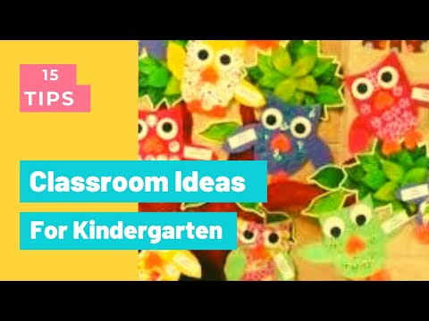 33 Best Classroom Decorations Ideas For Kindergarten My