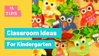 33+ Best Classroom Decorations Ideas For Kindergarten - My Kindergarten Classroom #195