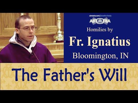 Fulfilling the Will of God - Feb 23 - Homily - Fr Ignatius