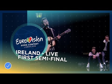 Ryan O'Shaughnessy - Together - Ireland - LIVE - First Semi-Final - Eurovision 2018