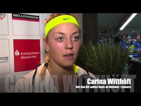 Carina Witthöft über die AK ladies open