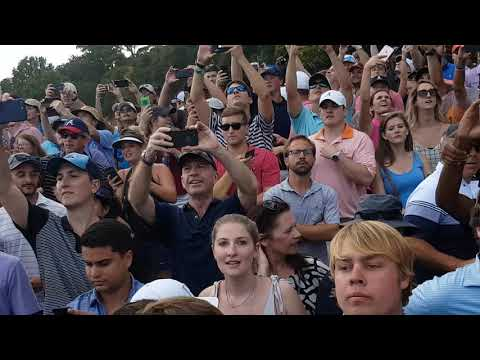2018 PGA Tour Championship Day 4 | East Lake Golf Course | 18th Hole Tiger Woods *Fan Footage*