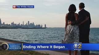 Obama Returns To Chicago Tuesday