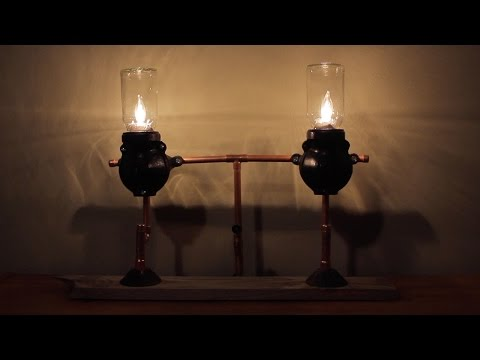 Coffee Grinder Lamp