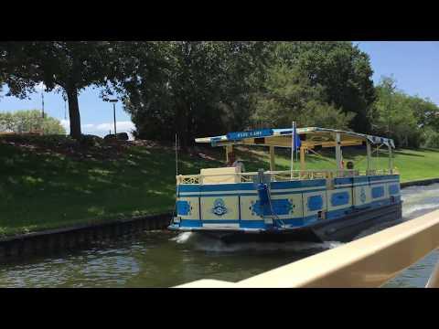D.V.C. Ferry Boat Ride to Disney's Saratoga Springs | Disney Springs | May 2017 4K