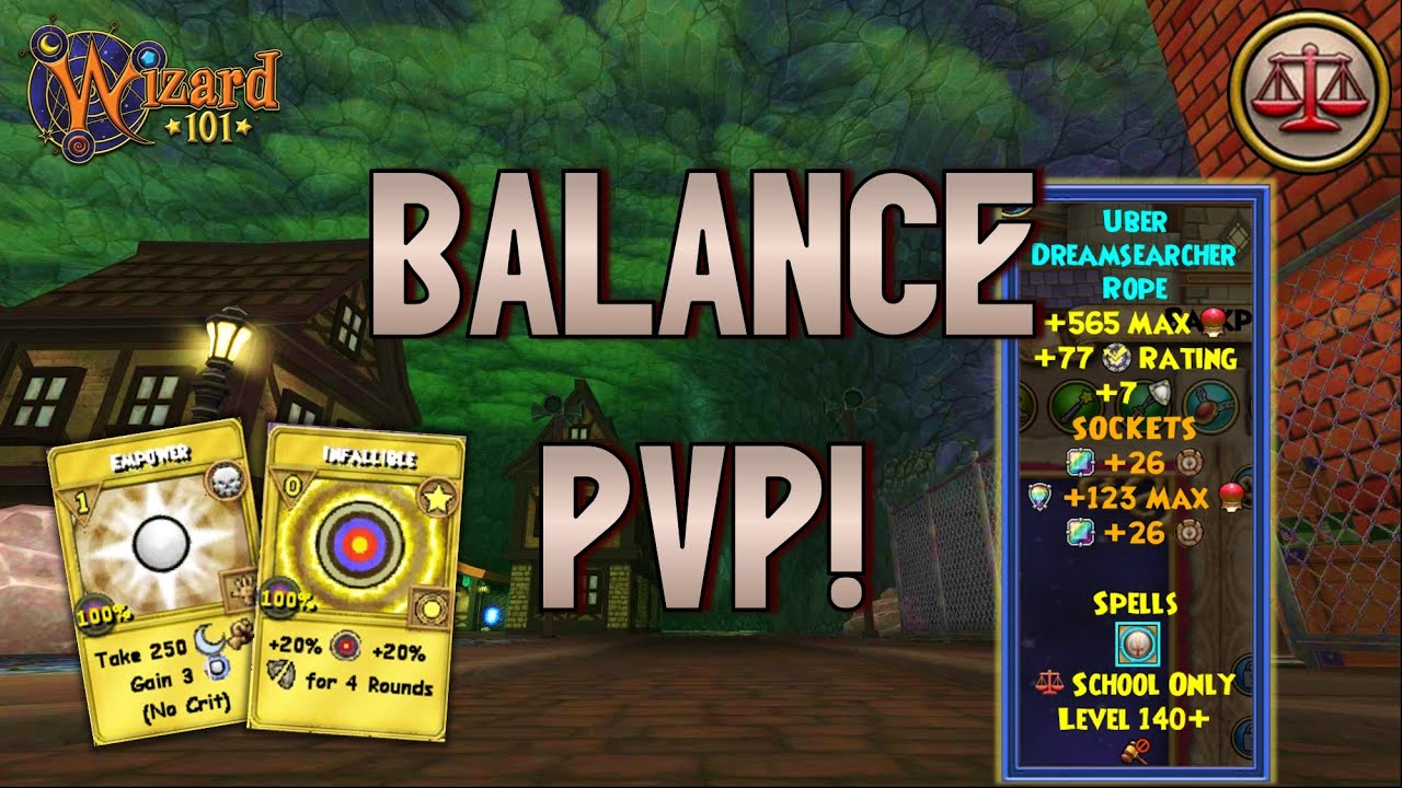 Wizard101: MAX BALANCE PvP (140): Big Time Recovery!