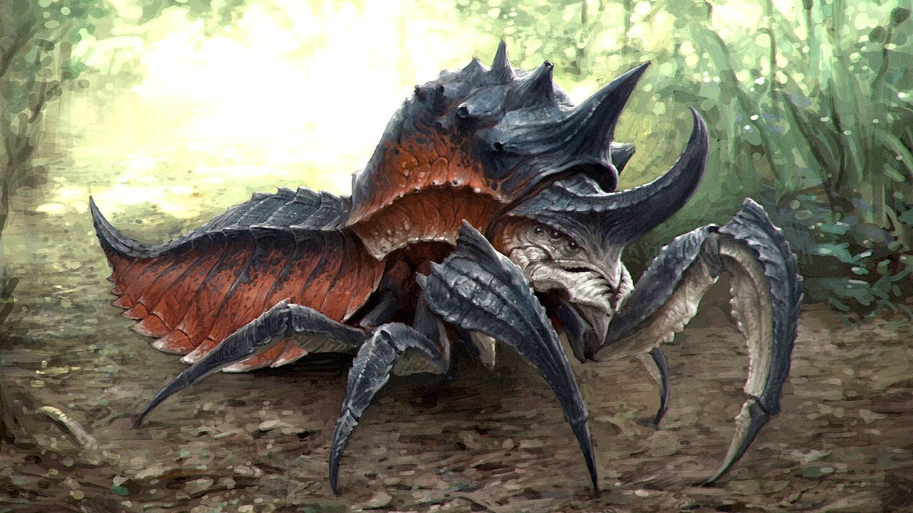 giant insects prehistoric - photo #10