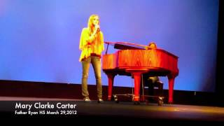 Mary Clarke Carter sings Adele at Talent Show