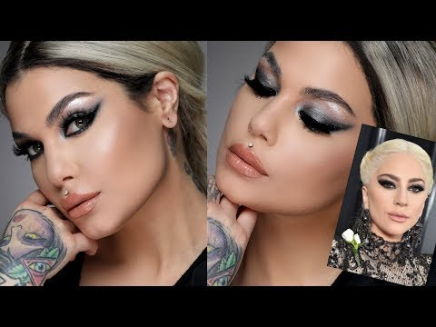 Lady Gaga Grammy Inspired Makeup Tutorial   Bailey Sarian