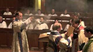 Highlights of the Sarum Mass at St. Thomas's Anglican Church, Toronto, Candlemas, 2 February 2010