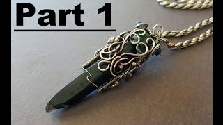 Wire Wrapping Time Lapse Tutorial - Obsidian Part 1